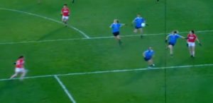 Dublin defenders get drawn to the ball