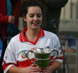Captain and hat-trick scorer, Kate Mulvey