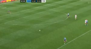 Grassroots dublin tyrone kick-out