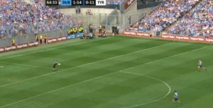 Grassroots dublin tyrone kick-out 4